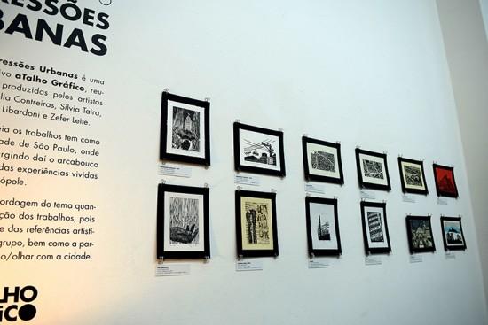 """A exposição """"Impressões Urbanas"""" mostra a visão dos artistas sobre a cidade de São Paulo. Clica na foto pra ver algumas obras!"""