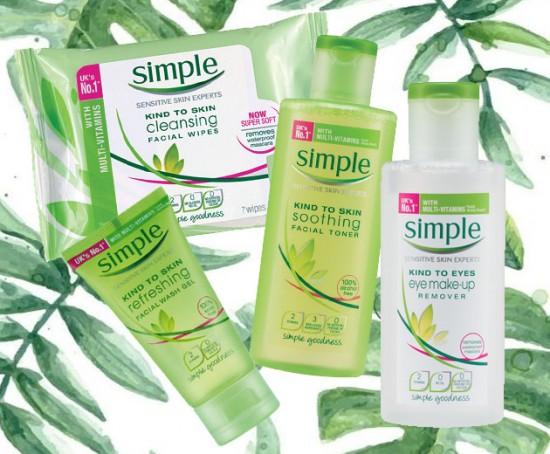 Os produtos hipoalergênicos, livres de ingredientes agressivos como corantes e perfumes artificiais da Simple - clica pra ver os preços!