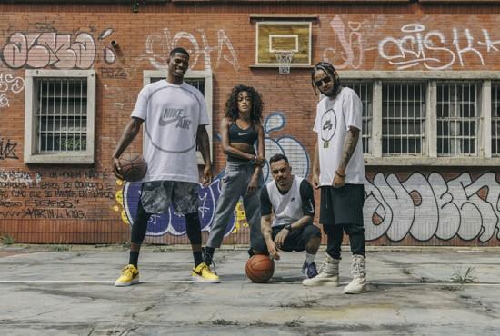 Shamel, Pathy Dejesus, Marcelo D2 e Emicida posam pra Nike - vem ver!