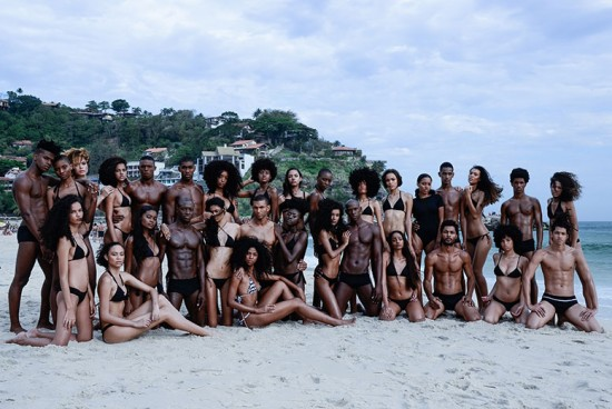 Clima de verão e 31 modelos negros brasileiros incríveis no nosso editorial - vem conferir!
