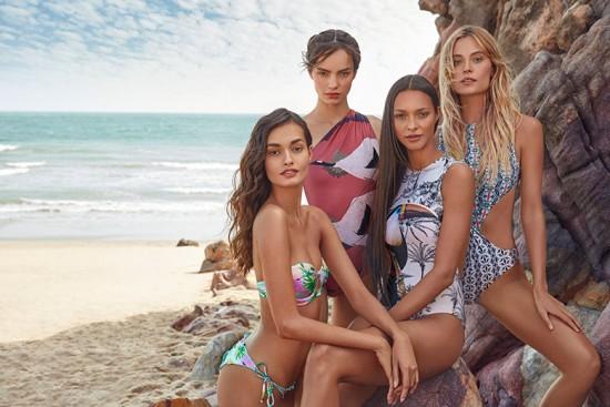 4 Mares: a nova coleção de moda praia da C&A uniu as marcas Água de Coco, Blue Man, Cia Marítima e Lenny Niemeyer. Vem ver mais!