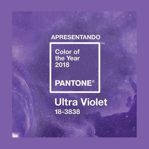 Provocativo, original e espiritual: Ultra Violet, a cor de 2018 definida pela Pantone. Clica pra ver mais!