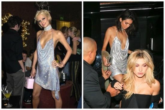 Malha metálica: Kendall Jenner homenageou a socialite no seu aniversário de 21 anos! Clica na foto pra ver mais!