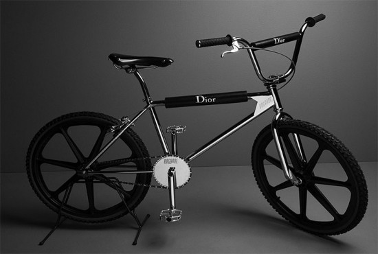 A bicicleta da Dior Homme!