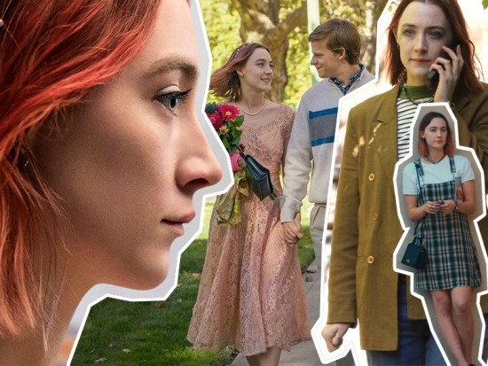 "Clica pra ver mais do figurino de ""Lady Bird"""