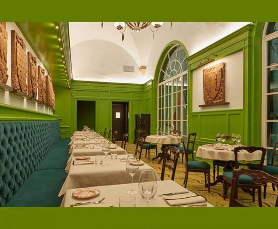 Gucci Osteria conta com o chef Massimo Bottura e faz parte do Gucci Garden em Florença, Itália, a terra natal da marca