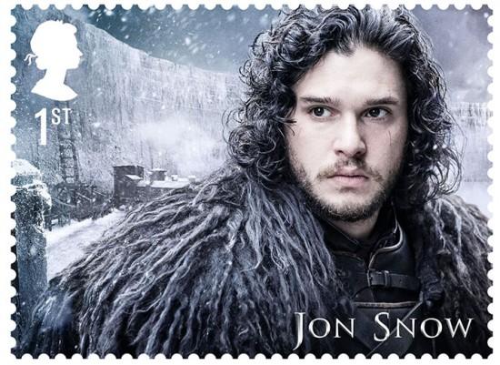 Selo com Jon Snow - vem ver mais na galeria!