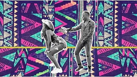 """A expô traz a renovação criativa aficana! Na imagem, cena do clipe """"Pass The Agbara"""", do grupo ganês Skuki"""