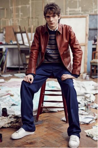 Quem disse que o jovem contemporâneo não pode fazer compras com o pai?  David Beckham e filhos propõem compras em família na Kent & Curwen!
