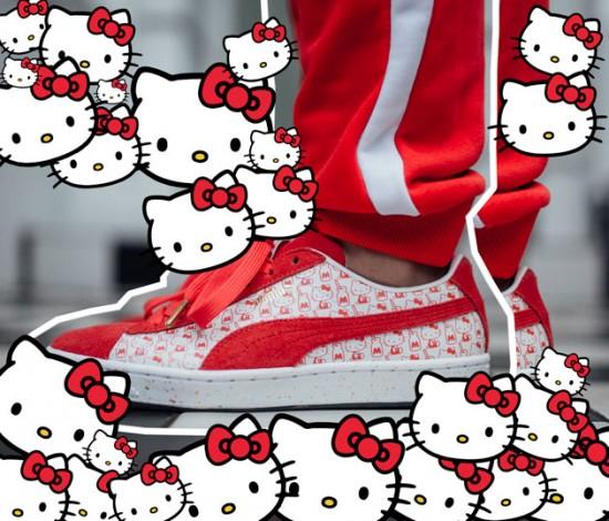 b11b4166f2b97 Hello Kitty pra Puma  a fofura da gatinha aos seus pés! - Lilian Pacce