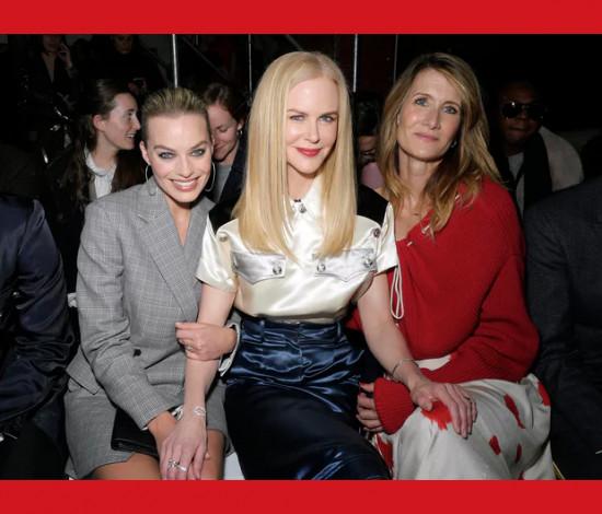 A fila A da Calvin Klein foi uma das mais disputadas da temporada - clica pra ver mais!