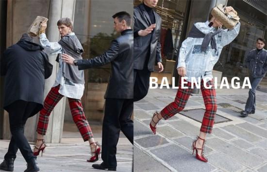 Stella Tennant é uma das modelos que aparece fugindo de paparazzi, vem ver mais!