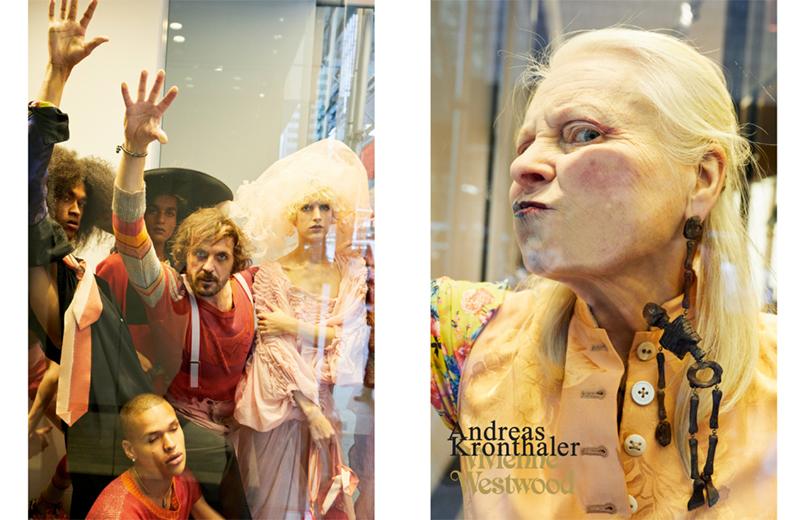 edd5c098359b1 Chloë Sevigny e drag queen Milk pra Vivienne Westwood - Lilian Pacce