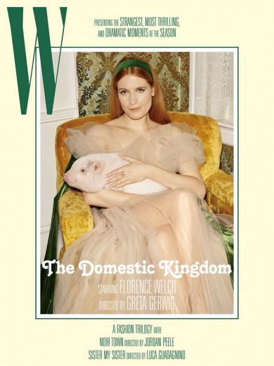 """""""W Magazine"""" convidou 3 cineastas que têm filmes indicados ao Oscar 2018 pra dirigir ensaios fotográficos! A primeira é Greta Gerwig, de """"Lady Bird"""" - vem ver mais!"""