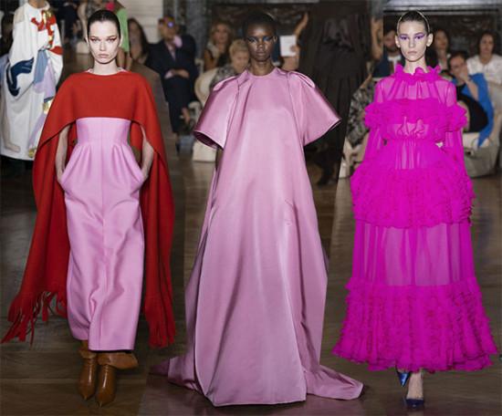 Muitos tons de rosa na Valentino! Quer ver mais? Clica aqui!
