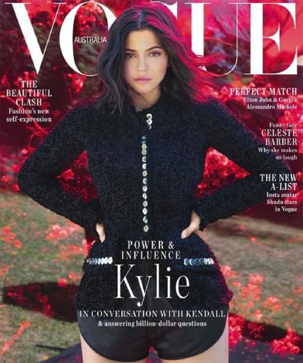 Kylie Jenner na capa da