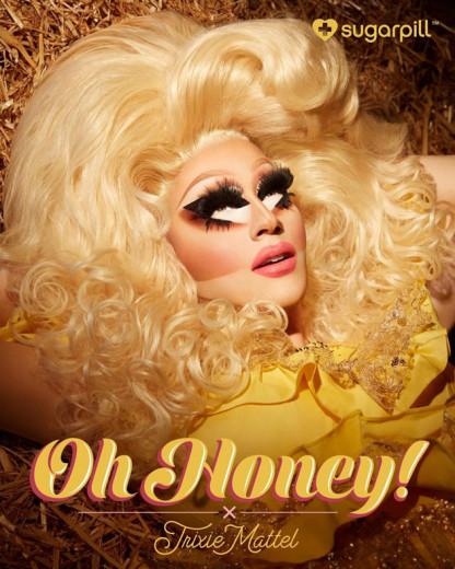 A linha Oh Honey! Da Trixie Mattel estreia dia 5/09