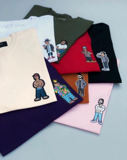 Será que o seu rapper favorito está na coleção?