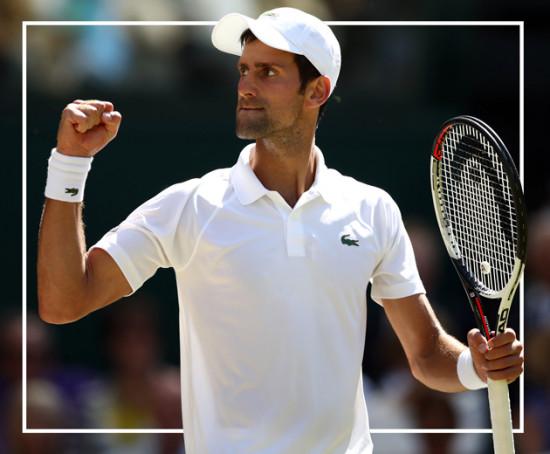 Novak Djokovic bem vestido... de Lacoste, claro!