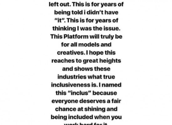 Instagram / @inclusmodels