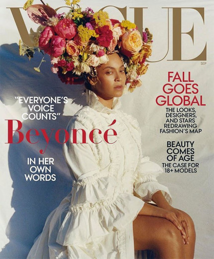 """Habemus Beyoncé: ela não posava pra capa da """"Vogue"""" América desde 2015"""