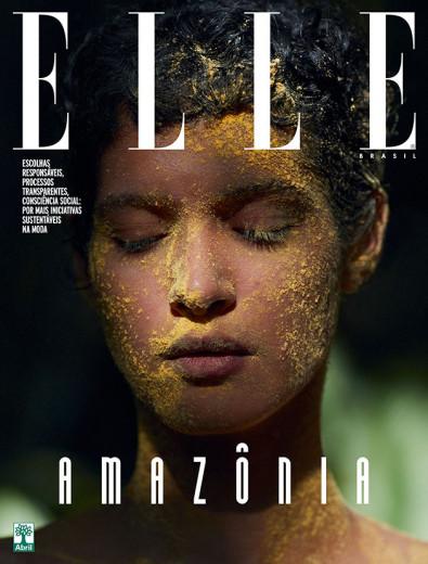"""Uma das capas da """"Elle"""" de agosto, que deve ser uma das últimas"""