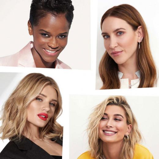 O time poderoso conta com Letitia Wright, Nikki DeRoest, Rosie Huntington-Whiteley e Hailey Baldwin - clica na galeria pra ver mais!