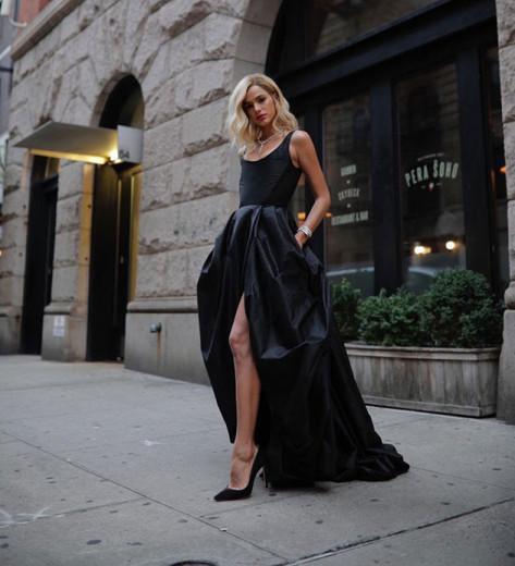 Bruna Marquezine loira e linda em NY de Atelier Le Lis