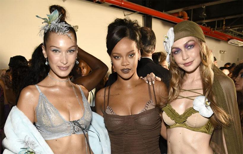 c8839117f O vídeo do desfile das lingeries da Rihanna! - Lilian Pacce