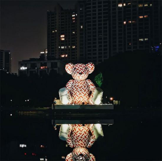 Em Xangai, o novo monograma no ursinho! Vem ver mais