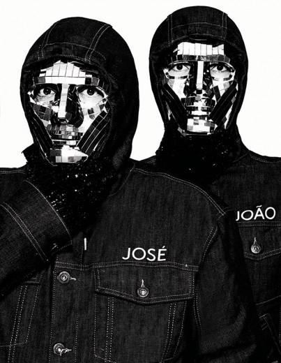 """A capa do livro """"José e João"""", com Zé Pedro e Johnny Luxo em fotos incríveis - vem ver um preview!"""