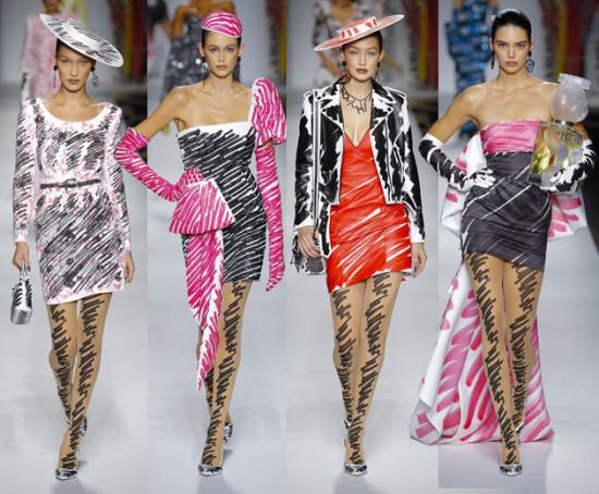 Bella Hadid, Kaia Gerber, Gigi Hadid e Kendall Jenner arrasaram na  temporada de moda 3157a885dd