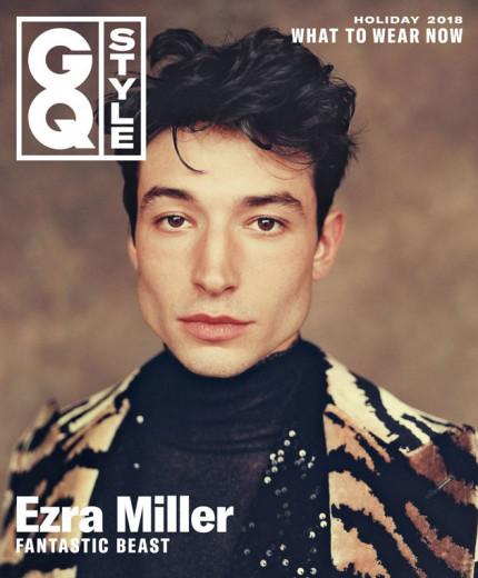 Ezra Miller na capa da GQ Style, vem ver mais!