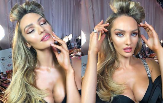 Você gostou da beleza da Victoria's Secret? Clica na galeria pra ver mais detalhes!