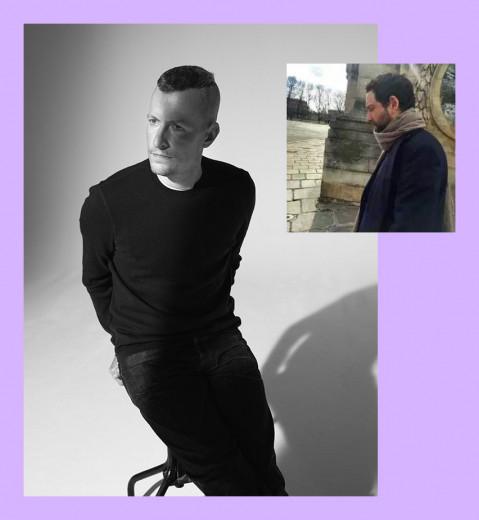 Lucas Ossendrijver (foto maior) sai e os boatos dizem que Bruno Sialelli (foto menor), atualmente no masculino da Loewe, entra. Será?
