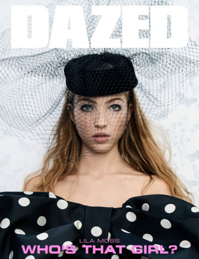 """Lila Moss Hack estrela a capa da revista """"Dazed"""" de inverno - clica na galeria pra conferir!"""