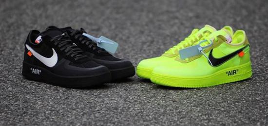 A nova colab da Off-White com a Nike vai ser lançada perto do Natal com modelo atualizado do Air Force 1