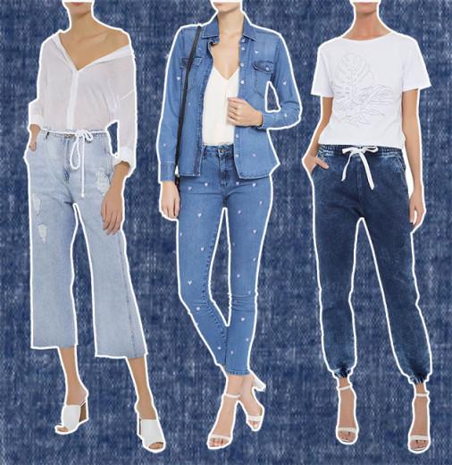 Você gosta mais da calça cropped, da retinha bordada ou do modelo jogging? Tem muito mais aqui na galeria!
