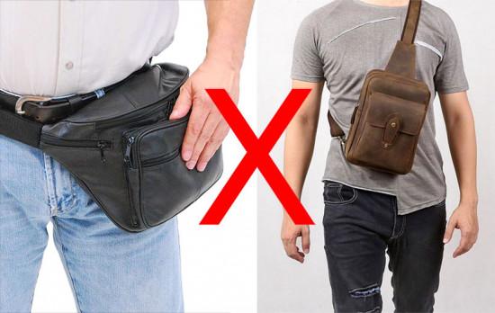 Pochete ou sling bag: qual você vai querer?