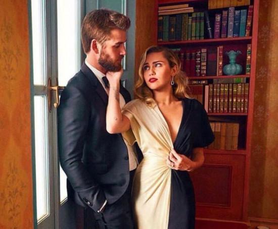 Miley Cyrus e Liam Hemsworth se casam numa cerimônia secreta em Franklin, no Tennessee!