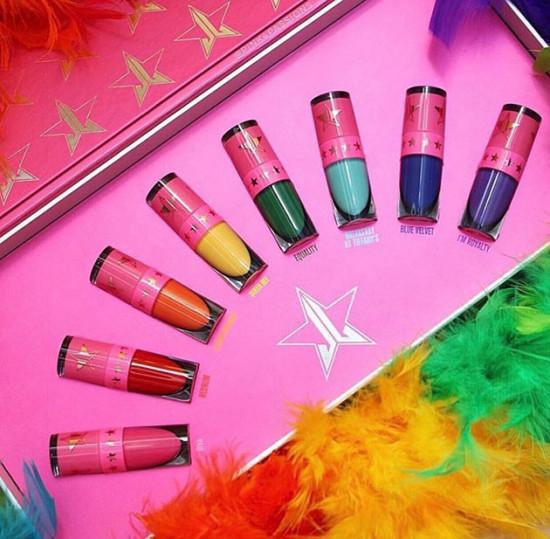 Olha o colorido LGBT do Jeffree Star! Vem ver mais