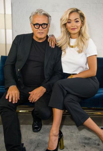 Giuseppe Zanotti e Rita Ora estão lançando uma coleção-cápsula - vem ver as fotos!