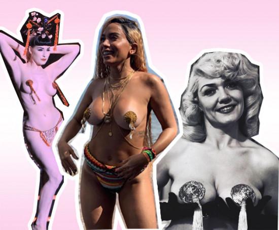 O nipple tassel é típico da arte burlesca, e agora está voltando com tudo graças a ninguém menos que... Anitta! Veja mais modelos na galeria