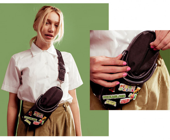 Crocs em forma de bolsa?! Exatamente! Vem saber mais sobre a colab da Crocs com a PizzaSlime!