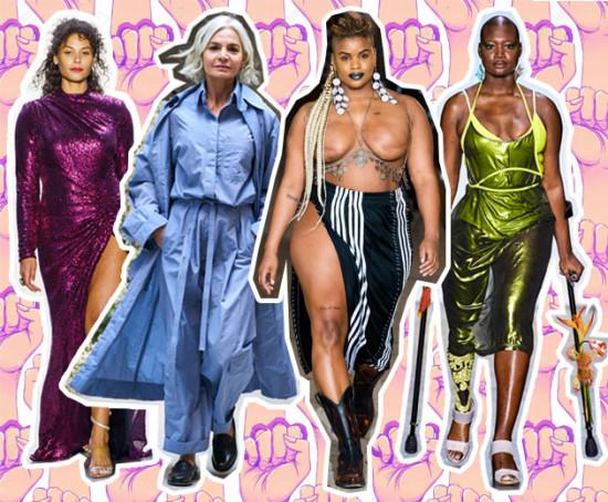 A moda é para todos! Na Semana de Moda de NY, várias marcas trouxeram modelos fora do padrão pra rechear seus desfiles com muita diversidade, quer ver mais? Clica aqui!