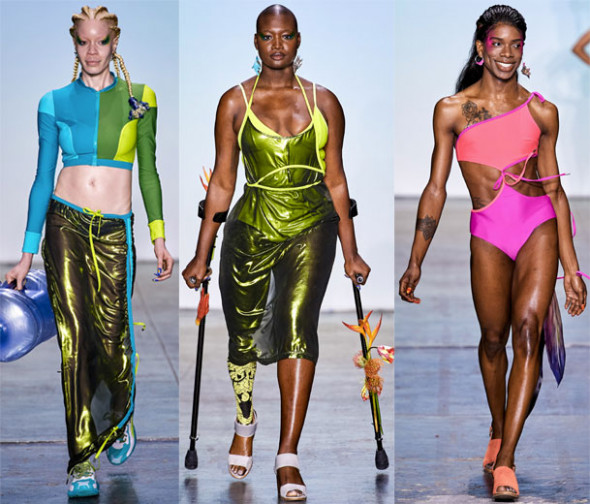 6e4303676 A Semana de Moda de NY trouxe diversidade pras passarelas - vem ver ...