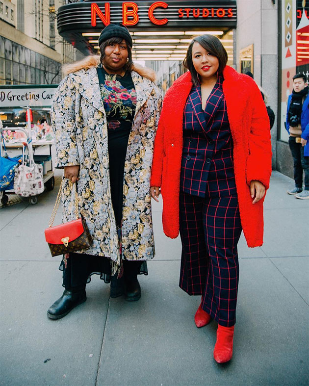 c06ccc4fc Mulheres plus size invadem o street style em NY! - Lilian Pacce