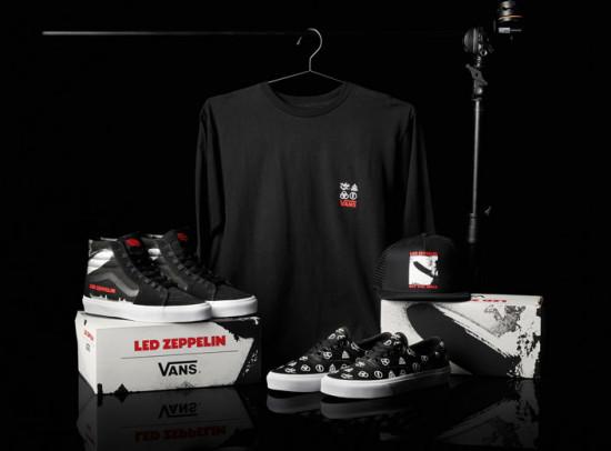 A Vans lança coleção-cápsula em comemoração dos 50 anos da banda Led Zeppelin - vem saber tudo!
