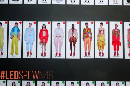 Marcas brasileiras ganhando espaço internacional: Led (da foto), Lucas Leão e Renata Buzzo vão expor seu trabalho durante a Semana de Moda de Milão - clica na foto pra saber mais!