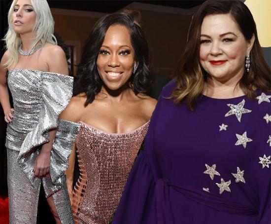 Lady Gaga, Regina King e Melissa McCarthy são algumas das concorrentes ao Oscar. O que será que elas vão usar?